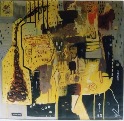 Painting ©2000 by Laurent Impeduglia -  Painting