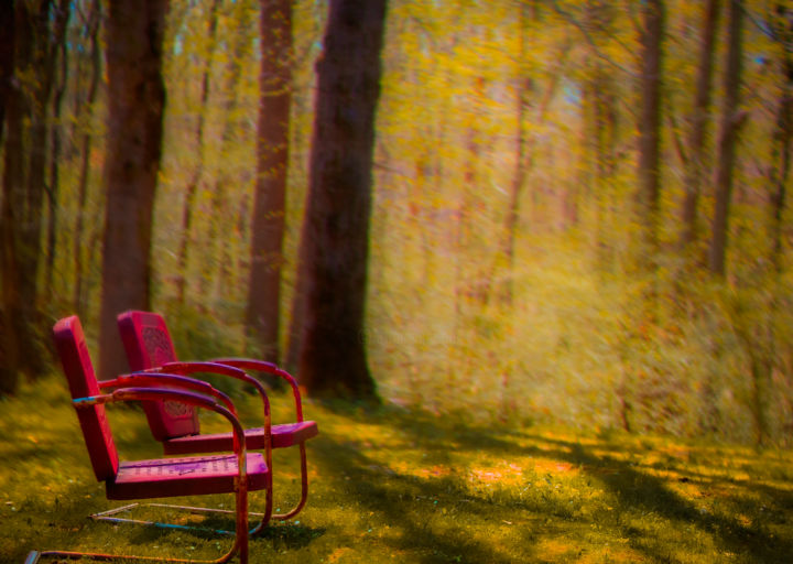 """Photography titled """"Chairs"""" by Blame Mr Ken, Original Art, Manipulated Photography"""