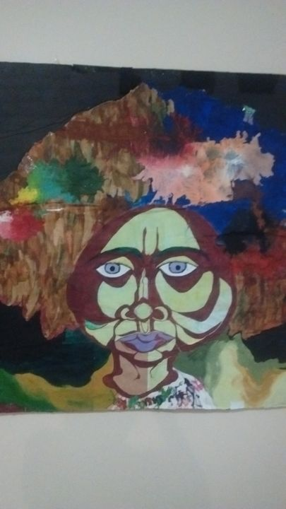"""Painting titled """"Philosophy"""" by Blyss Wilford, Original Art, Other"""