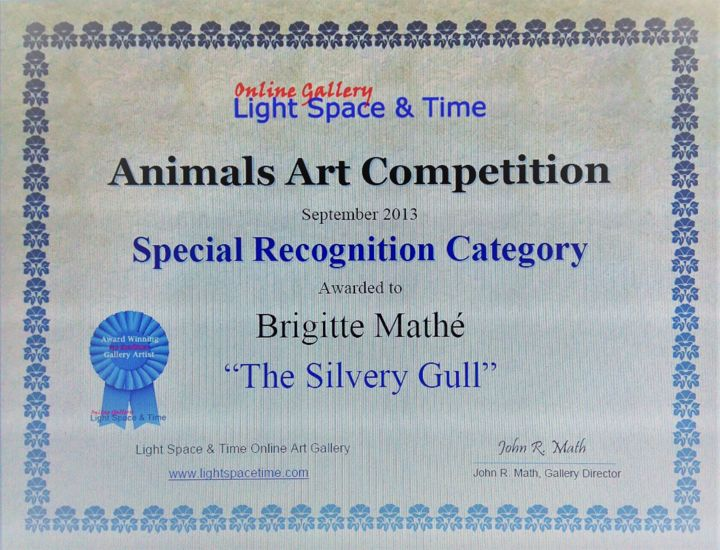 Animals Art Competition Special recognition - ©   Œuvres-d'art en ligne