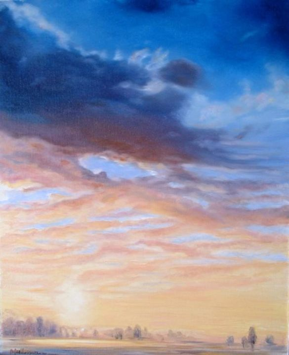 ciel nov2005 - Painting, ©2005 by Ster -