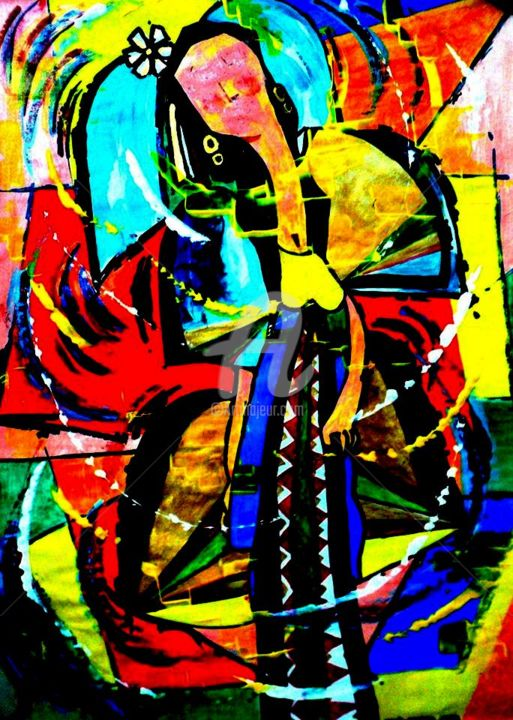 """Painting titled """"10348771-8068584260…"""" by Bobby Bautista, Original Art,"""
