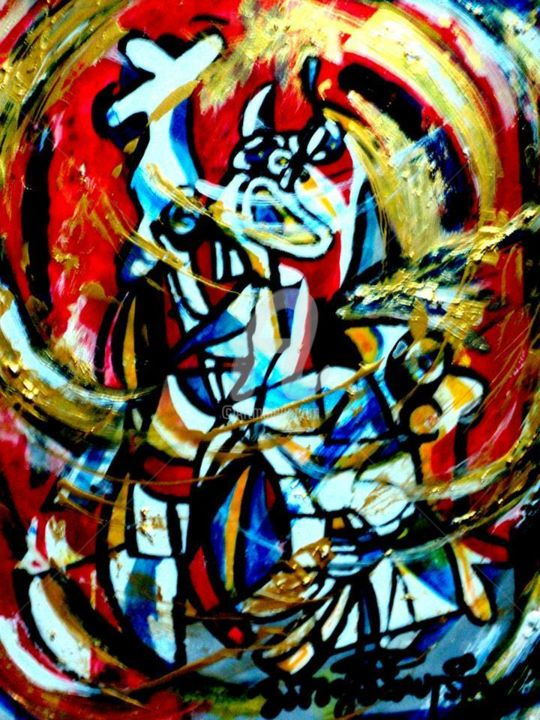 """Painting titled """"10168089-8067998360…"""" by Bobby Bautista, Original Art,"""
