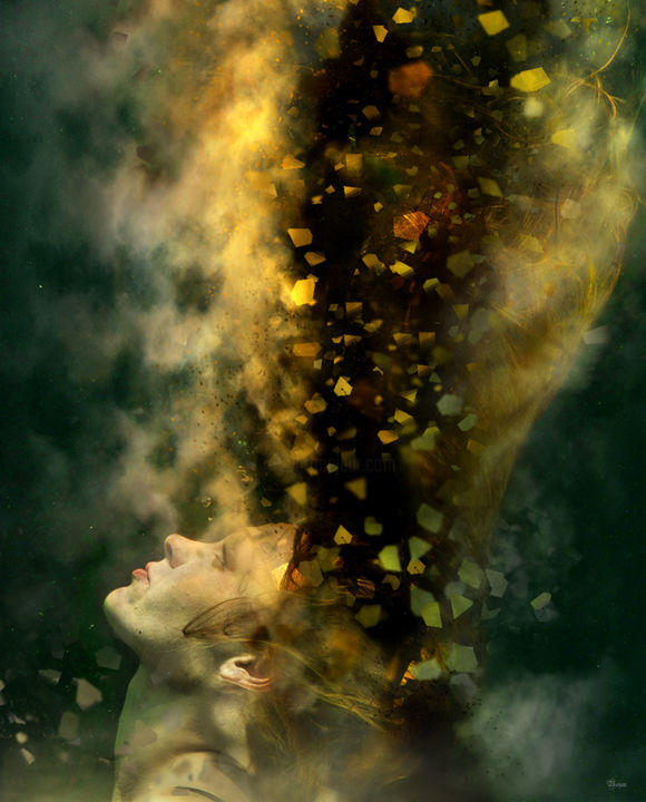 """Photography titled """"1000 thoughts"""" by Bojan Jevtic, Original Art, Manipulated Photography"""