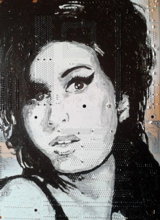 """Painting titled """"Winehouse"""" by Boriani 2.0, Original Art, Oil"""