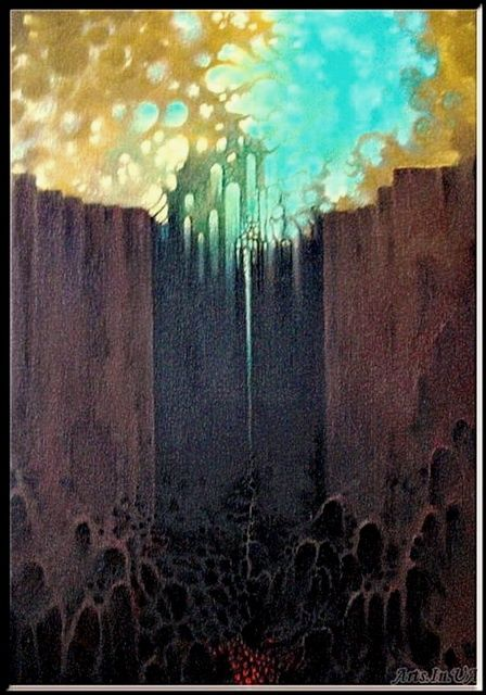 The Gate - Mixed Media,  40x50 cm ©2011 by Борис Тупейко -