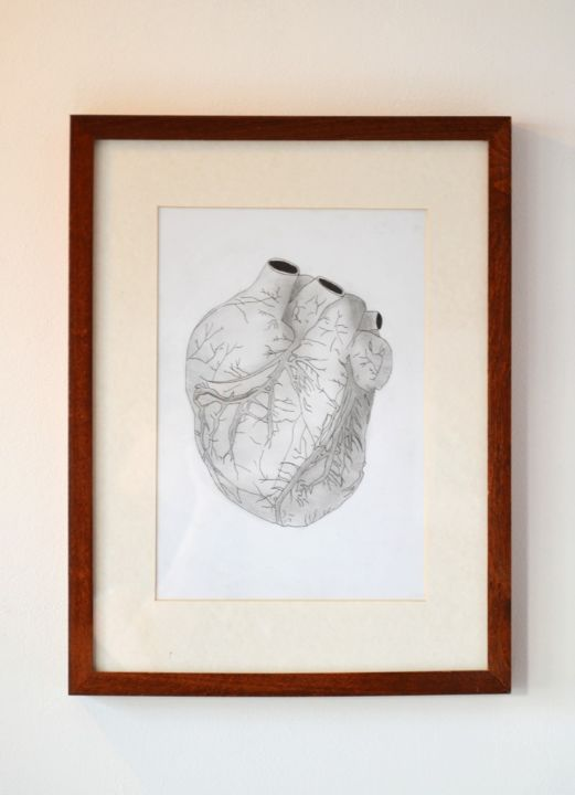 In A Heartbeat Drawing By Nils Borowski Artmajeur
