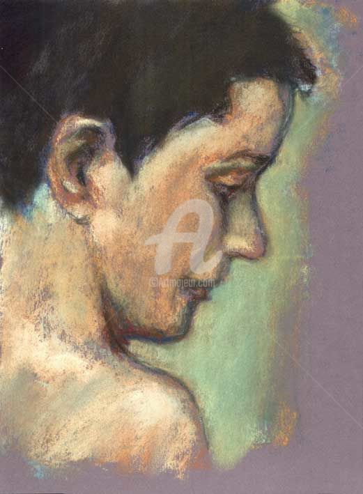 Study of model - Painting ©2000 by Bort -