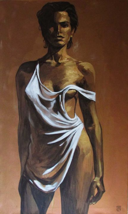 And Naked women painted gold men