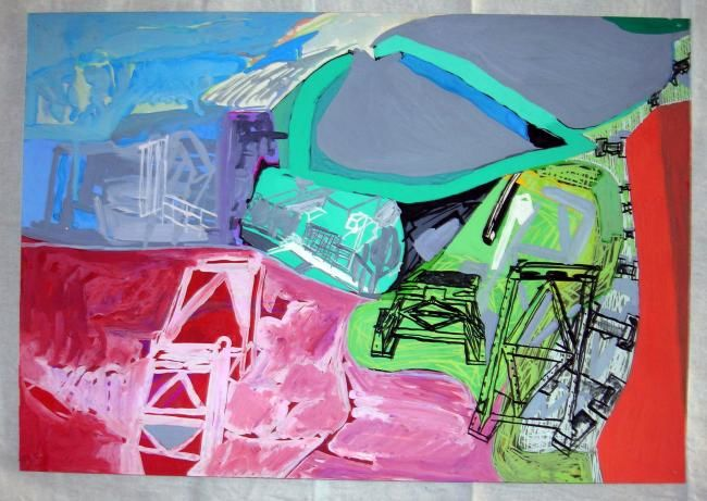"""Painting titled """"painting"""" by B.K.G, Original Art,"""