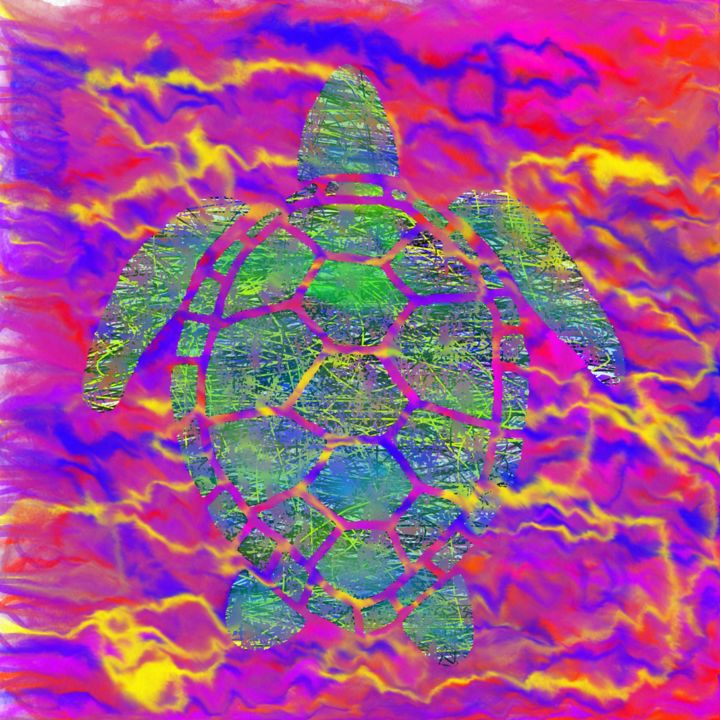 torTue - Digital Arts, ©2020 by Thierry Boussion -                                                                                                                                                                          Abstract, abstract-570, Abstract Art