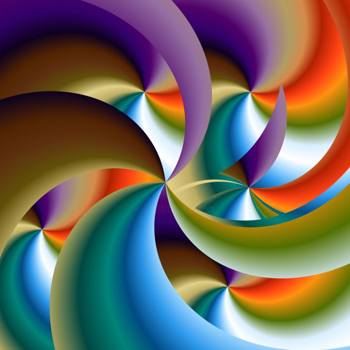 spiRale - Digital Arts, ©2020 by Thierry Boussion -                                                                                                                                                                                                                          Abstract, abstract-570, Abstract Art, spirale