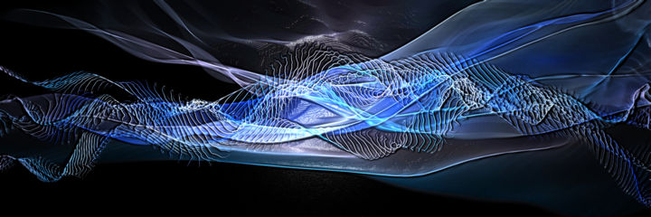 vague - Digital Arts, ©2020 by Thierry Boussion -                                                                                                                                                                          Abstract, abstract-570, Abstract Art
