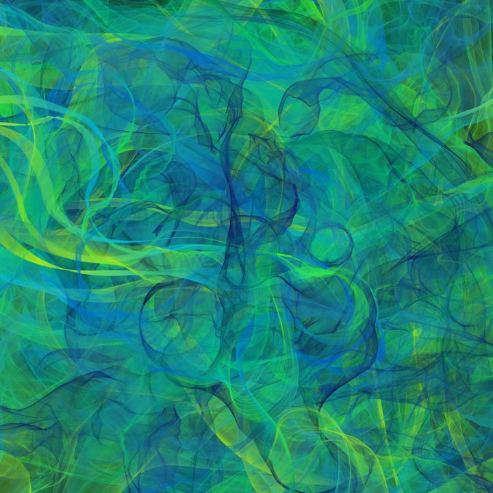 flOw - Digital Arts, ©2020 by Thierry Boussion -                                                                                                                                                                          Abstract, abstract-570, Abstract Art