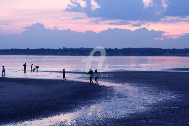 """Photography titled """"Sunset at the Beach…"""" by B.Rossitto, Original Art,"""