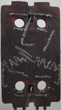 M 9 - Painting, ©2006 by Alain Buisson -