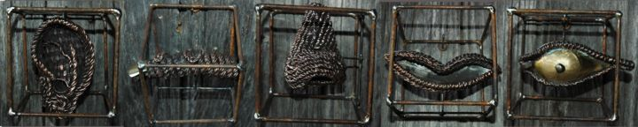 a-10x10-cage2.jpg - Sculpture ©2014 by Alain Buisson -