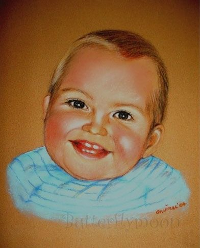 Enfant - Drawing, ©2004 by Butterflymoons -