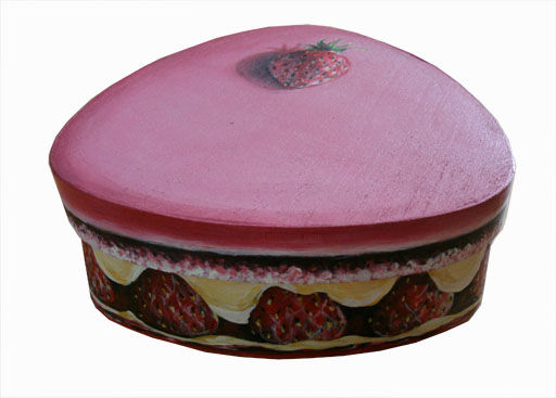 Boite gateau - Painting, ©2009 by Butterflymoons -