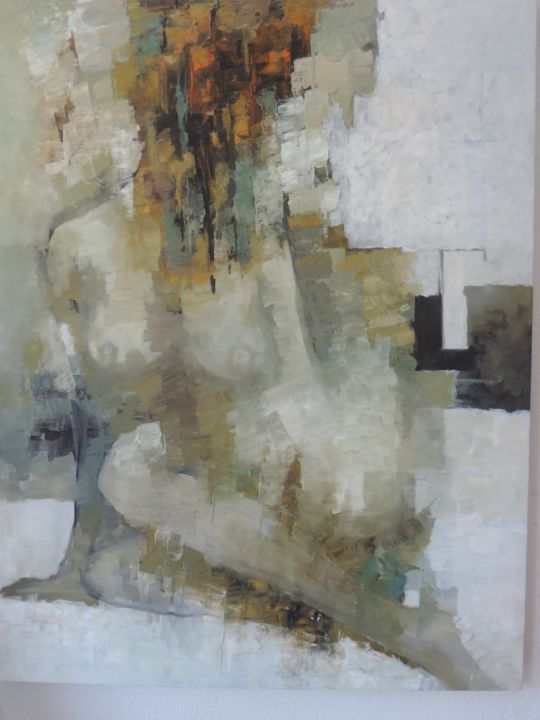 """Painting titled """"Spring Dreams"""" by Bartholameuse Wimalaratne, Original Art, Oil"""