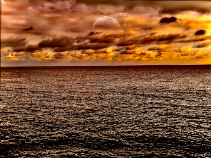 """Photography titled """"Dès l'or..."""" by Byalmador, Original Art, Manipulated Photography"""