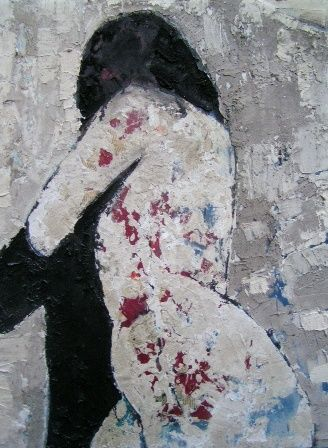 voltati - Painting,  80x60 cm ©2007 by ANDREA CARDIA -
