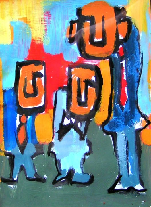 foto-026.jpg - Painting, ©2015 by Andrea Cardia -