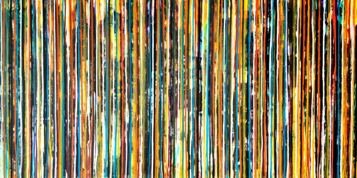"""Painting titled """"The Emotional Creat…"""" by Carla Sá Fernandes, Original Art, Acrylic Mounted on Stretcher frame"""