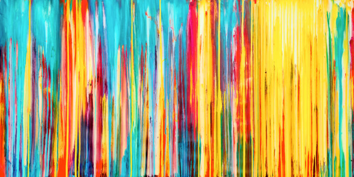 Abstract Painting, acrylic, abstract, artwork by Carla Sá Fernandes