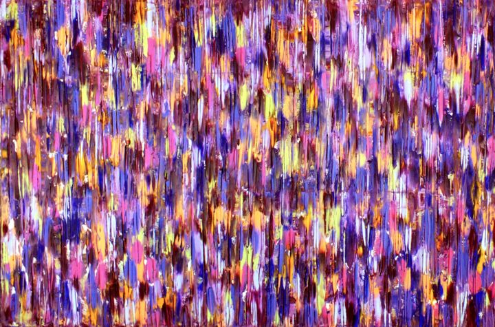 All In #38 - ©  original, abstract, oil, painting, all in, canvas, Carla Sá Fernandes, impasto, texture, modern, contemporary, fine art Online Artworks