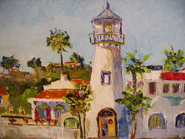"""Painting titled """"Meet me in front"""" by Carlo Gislimberti, Original Art, Oil"""