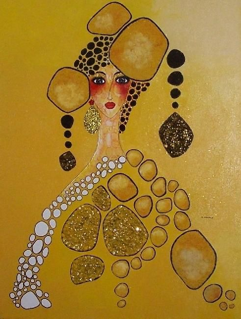 ATHENA - Painting ©2012 by Carmen Manno -