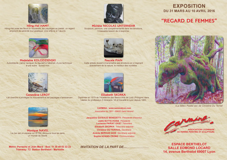 EXPO REGARDS DE FEMMES CARMINA