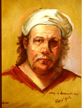 Rembrandt - Painting ©2000 by Emil Gutman -