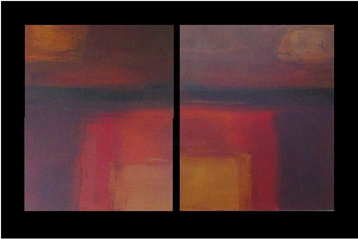 """Painting titled """"The Exit"""" by Carol Benson, Original Art,"""