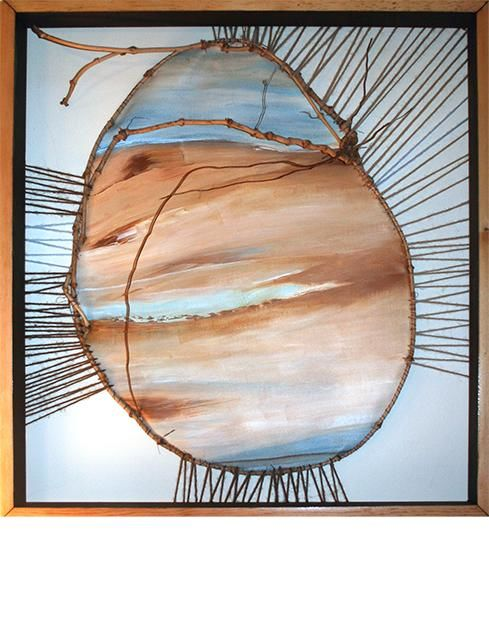 Earth Egg Painting By Carol Lorac Young