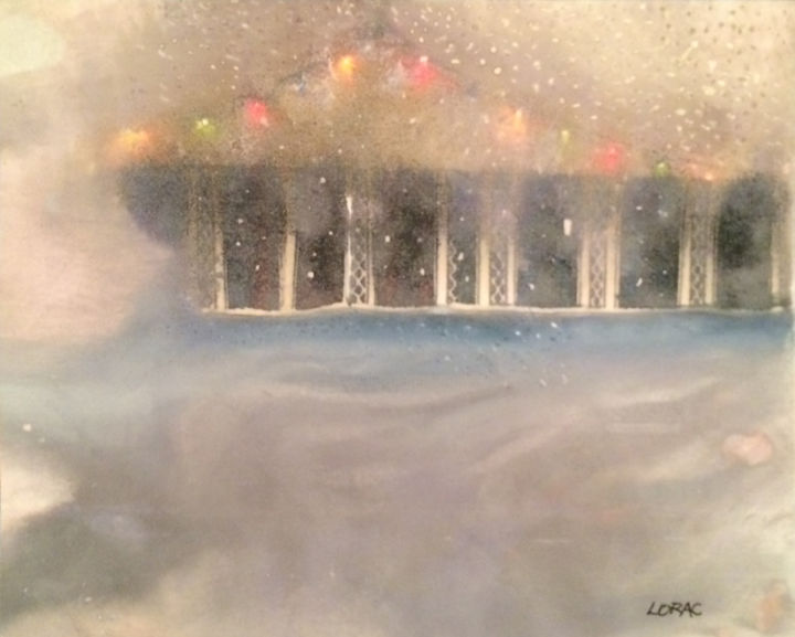 """Painting titled """"Snow On The Dance C…"""" by Carol Lorac Young, Original Art,"""