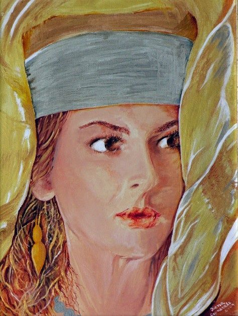 Mikal - Painting ©2009 by Diana Carnevale -