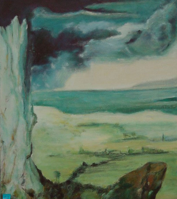 Paysage - Painting ©2003 by Jeanie Castelli -