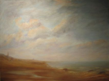 Plage du Nord 2 - Painting ©2008 by Jeanie Castelli -