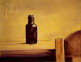 Nature morte 8 - Painting ©2001 by Jeanie Castelli -                        Realism