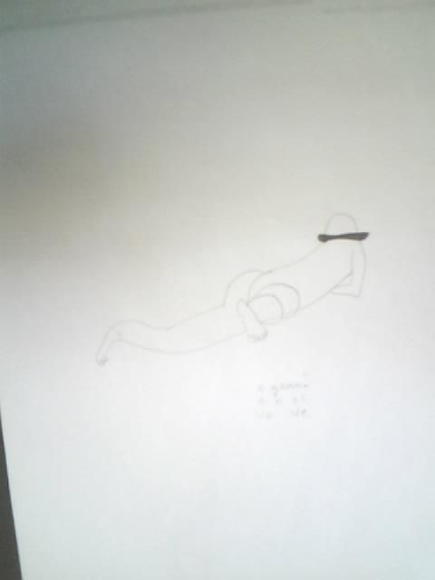 """Drawing titled """"4"""" by Catalin Geana, Original Art, Other"""