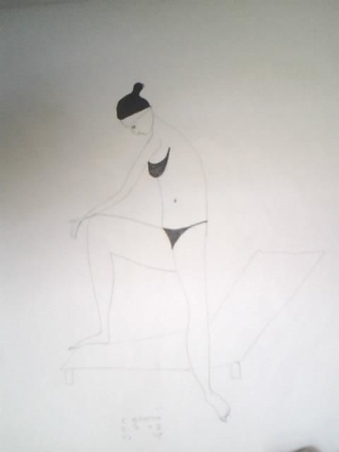 """Drawing titled """"6"""" by Catalin Geana, Original Art, Other"""