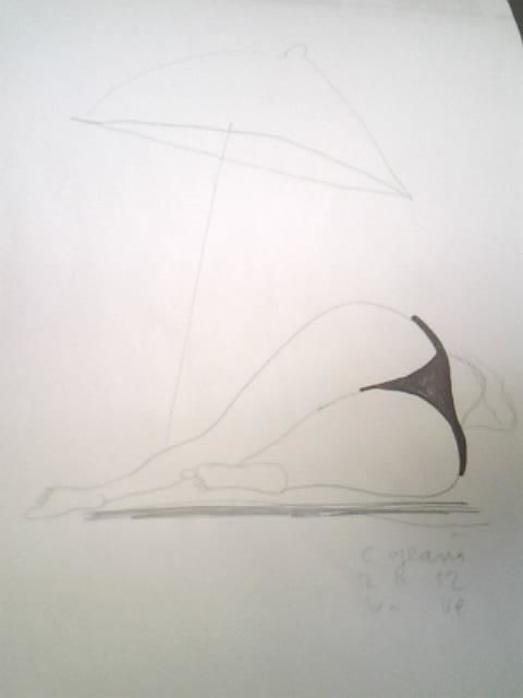 """Drawing titled """"19"""" by Catalin Geana, Original Art, Other"""
