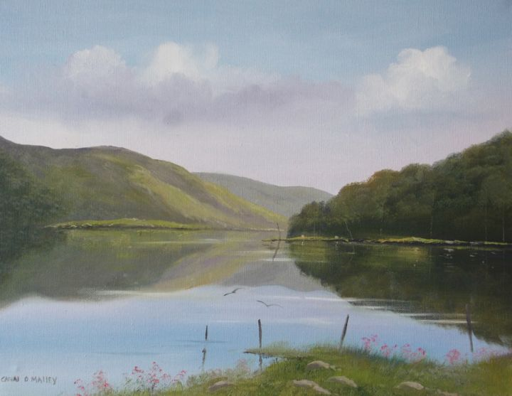 glendalough-co-wick.jpg - Painting ©2017 by Cathal O Malley -