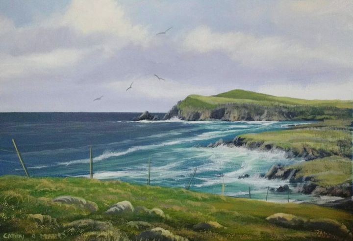 slea-head-co-kerry.jpg - Painting ©2018 by Cathal O Malley -