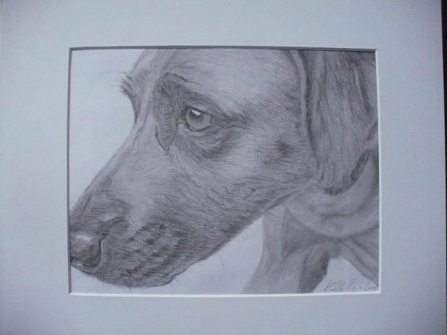 """Drawing titled """"serious!!"""" by Kelly, Original Art,"""