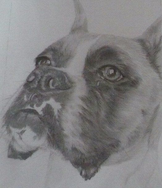 """Drawing titled """"Great Pose!"""" by Kelly, Original Art,"""