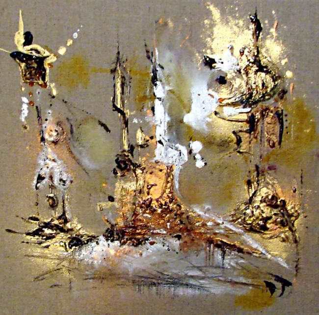 Painting,  30 x 30 cm ©2006 by Muriel Cayet -  Painting