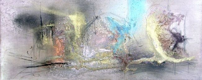 Painting,  50 x 20 cm ©2007 by Muriel Cayet -  Painting